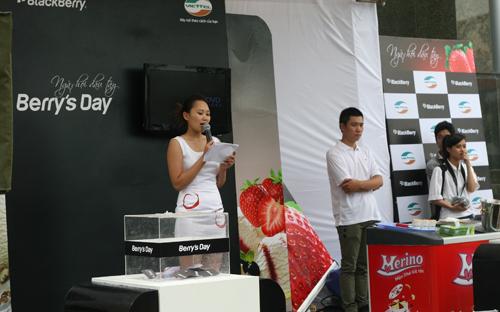 Ngày hội BlackBerry trên đường phố Hà Nội